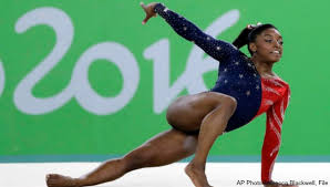 Simone Biles Floor Routine by Simone Biles Soars To Ap Female Athlete Of The Year Woodtv Com