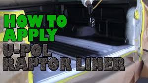 100 Diy Spray On Truck Bed Liner How To Apply UPOL Raptor Liner