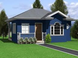 The House Design Storey by Single Storey Small Residential House Home Design