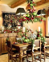 Christmas Dining Table Decorations Room