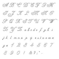 Free Printable Fancy Letter Alphabets Alphabet Letters Org Con Con