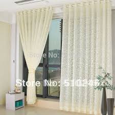 Searsca Sheer Curtains by Eyelet Voile Curtains Centerfordemocracy Org