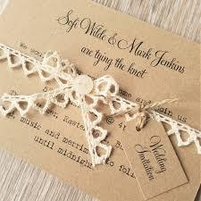 Rustic Vintage Wedding Invitations 4