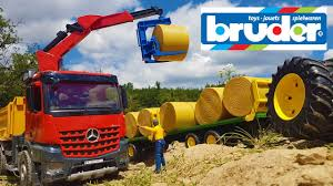 Bruder Toys Best Of Trucks And Tractors! - World Of Toys - TheWikiHow