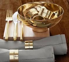 Luna Brushed Gold Flatware Set