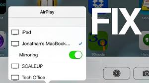 Airplay not working mirror in iOS 8 how to FIX iPhone iPad