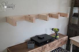 DIY Media Shelves Shanty 2 Chic