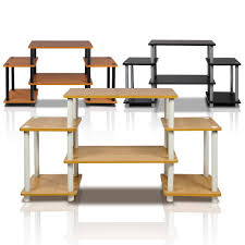 Furinno Computer Desk 11193 by Furinno 11257be Wh Turn N Tube No Tools Entertainment Center