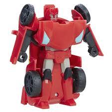 Playskool Heroes Transformers Rescue Bots Sideswipe Race Car Robot ...