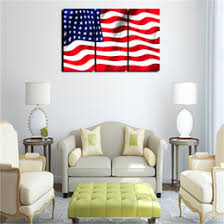 Discount America Flag Canvas