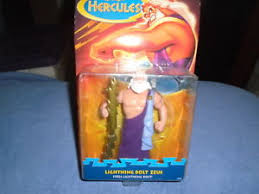 Image Is Loading Mattel 1997 Disney Hercules Movie Lightning Bolt Zeus