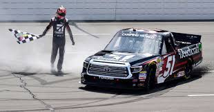 100 Truck Series NASCAR Kyle Busch Ties Ron Hornday Jrs Record For Most Wins