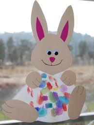 Preschool Crafts For Kids Easter Bunny Sun Catcher Craft FlmZVCsn