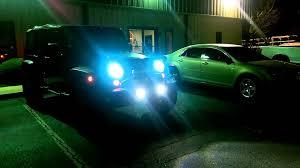 putco led fog light bulbs on jeep jk