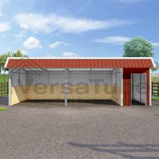 Livestock Loafing Shed Plans by Single Slope Loafing Shed 12 X 30 X 10 8
