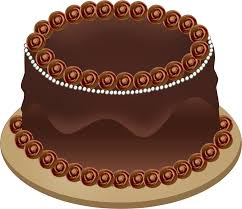 Cake clipart chocolate cake 6