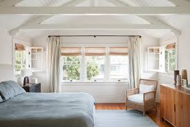 Wrap Around Curtain Rod Bedroom Rustic With Cabin Ceiling Fan Beach Cottage Curtains