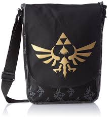 Zelda Triforce Lamp Ebay by Amazon Com Bioworld Zelda Small Messenger Bag Logo Zelda