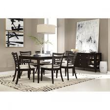 Leonora Taupe Faux Leather Dining Chairs Pair