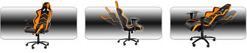 Akracing Gaming Chair Blackorange by игровое кресло Akracing Player Gaming Chair Black Blue купить по