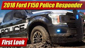 100 Ford Police Truck 2018 F150 Responder First Look YouTube