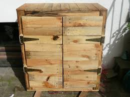 Nice Upcycled Pallet Dresser Bedroom Palletcupboard Recyclingwoodpallets Homemade Made Out