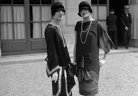 1920s Flappers Little Black Dresses