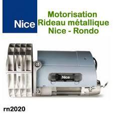 moteur rideau métallique rondo rn2020 motorisationplus