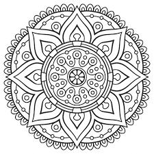 Print Coloring Mandala Printable Pages In Gtgt Free