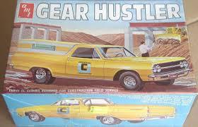 100 El Camino Truck MISB ORIGINAL AMT 1965 CHEVY EL CAMINO PICKUP TRUCK GEAR HUSTLER