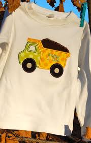 Dump Truck Applique   Sewing Projects   Pinterest   Dump Truck ... Personalized Birthday Dump Truck Applique Shirt Or Bodysuit Girl Boy Valentines Day With Hearts Boyss Tow Machine Embroidery Design Blue Green Boy Christmas Mardi Gras Crimson Football Dumptruck Little 2 Dump Truck Applique Etsy Shamrock Saint Patricks Embroitique Gifts Filled For