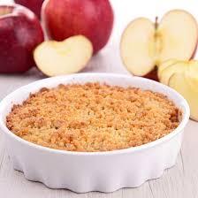 dessert aux pommes rapide recette crumble facile aux pommes express