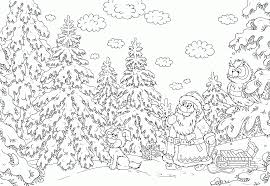 Intricate Christmas Coloring Pages With Hard