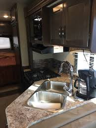 2017 Thor Chateau 30 Ft Class C Motorhome RV Rental Kitchen