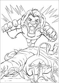 Lion King Printable Coloring Pages 14