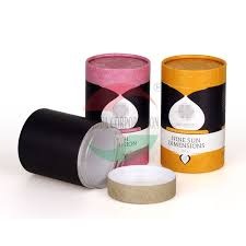 China Round Paper Composite Cans For Coffee Powder Packaging Cylinder Tube Supplier