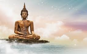 Buddha Statue Sitting Meditating Posture HD Wallpaper Image