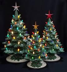 Vintage Atlantic Mold Ceramic Christmas Tree by Christmas Christmas Vintage Atlantic Mold Piece Lighted Ceramic