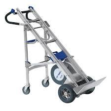 100 Hand Truck Stair Climber Rear SwingOut Wheel Carriage For WESCO LiftKar Climbing