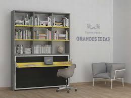 bureau escamotable mural l gante de lit bureau escamotable relevable inspirant armoire canap