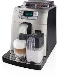 Intelia Super Automatic Espresso Machine Hd875387 Saeco