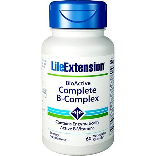 Life Extension Complete B-Complex Dietary Supplement - 60 Capsules