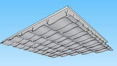 Certainteed Ceiling Tiles Cashmere by 10 Open Plan U2013 2 U0027 X 2 U0027 Fiberglass Acoustical Ceiling Tiles 3d