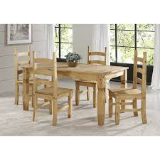 Corona Pine Solid Wood Dining Set With 1 Table & 4 Chairs Details About Ding Table And 4 Chairs Set Solid Pine Wooden Kitchen Home Fniture White Life Carver Wood 118cm Large Contemporary Funiture 118 76 73cm Canterbury With Bench Solid Pine Ding Table Chairs Yosemite 5 Piece Round Side Ivory Charm X90cm Salto With And Room Sets 1 Corona Costway 5pcs Brown Rakutencom Yakoe