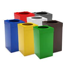 poubelle de bureau tri selectif atlas poubelle tri sélectif pour bureau 80 litres