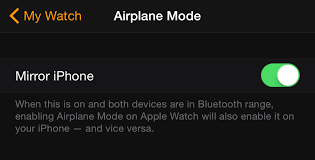 How To Turn And f Airplane Mode Apple Watch Re Hub