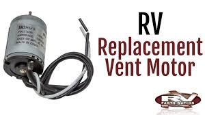 Ventline Rv Bathroom Fans by Rv Replacement Vent Motor Youtube