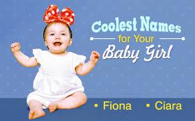 Cool Girl Names