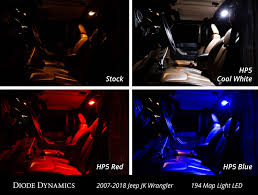 100 Led Interior Lights For Trucks Now Available LED Bulb Kit For 20072018 Jeep JK Wrangler