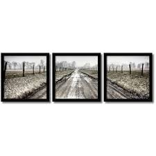 Lofty Ideas 3 Piece Framed Wall Art Together With Pricket Path Set Amanti Polyvore Sets Canvas